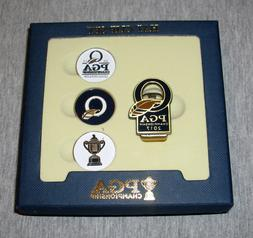 2017 PGA Golf Championship Hat Clip & Ball Marker Set Antiqu
