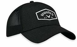 Callaway 2018 Trucker Adjustable Golf Cap Hat - Black