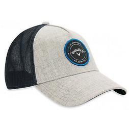 CALLAWAY 2019 MEN'S TRUCKER ADJUSTABLE CAP / HAT OSFM GRAY N