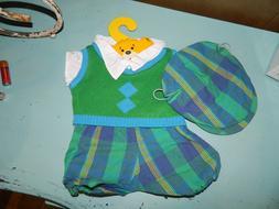 bab build a bear golf clothes sweater