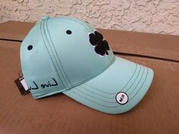 Black Clover Live Lucky Golf Hat - S/M - BC Style 11 - Teal