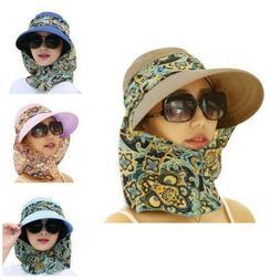 Black Womens Sun Visor Hats Beach Golf Wide Brim Hats Ladies