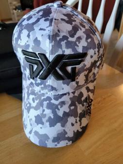 PXG CAMO GOLF HAT W/ BALL MARKER - NEW