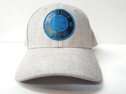 Black Clover Cap BC Style #1 Stretch Fit  Heathered Gray  Go