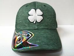 Black Clover Cap Lucky Heather Green Stretch Fit Golf Hat Li