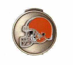 Cleveland Browns Hat Clip with Golf Ball Marker