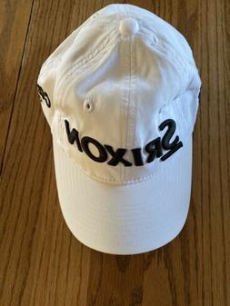 Srixon Cleveland Golf Cap Hat Baseball Style White Lightweig