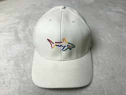 Greg Norman Collection The Shark Embroidered Golf Hat Bone A