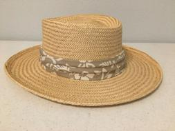 dorfman pacific straw hat size l xl