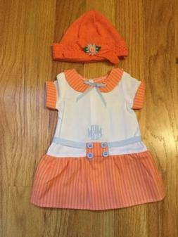 American Girl Dress & Hat From Kit Mini Golf Outfit Retired