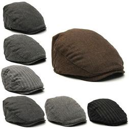 Fashion Men's Vintage Newsboy Ivy Hat Cap Bunnet Beret Golf