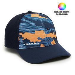 Oakley Golf Silicon Bark Trucker 2.0 Print Hat Cap 911722 -