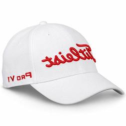 TITLEIST GOLF 2019 TOUR ELITE FITTED HAT CAP SIZE: S/M WHITE