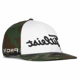 golf 2020 woodland camo semi curve adjustable