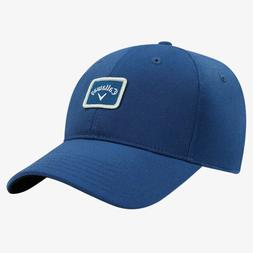 CALLAWAY GOLF 82 LABEL FITTED CAP / HAT SIZE: S/M BLUE/SILVE