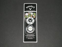 Callaway Golf Dual-Mark Poker Chips With Magnetic Ball Marke