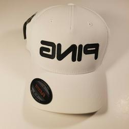 PING Golf Flexfit Hat White Black S/M NWT