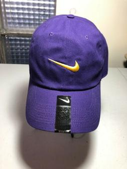 Nike Golf Hat- Purple And Gold Colorway One-size. LSU Tiger.