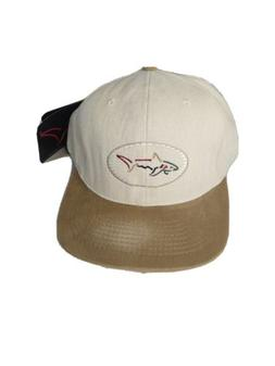 Greg Norman golf hat shark ball cap with tags