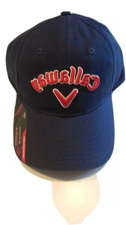 Callaway Golf Hats - Blue/Red/White - Adjustable