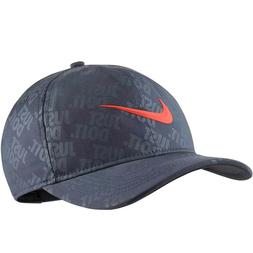 Nike Golf Just Do it Snapback Hat Cap AR6304-471 Thunder Blu