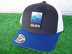 Ping Golf Mountain Patch Navy Blue 110 Adjustable Snap Back