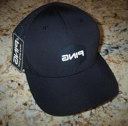 PING GOLF Sensor Cool BLACK Cap Hat NEW NWT Adjustable OSFA