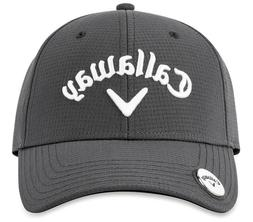 CALLAWAY GOLF Stitch Magnet Cap Hat Charcoal Gray Adjustable