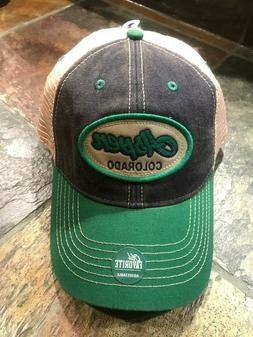 Hat Cap Aspen Colorado Relaxed twill mesh back golf hike fis