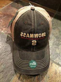 Hat Cap Snowmass Colorado relaxed Vintage Twill golf hike fi