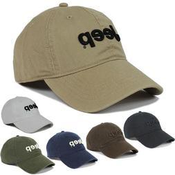Hot Jeep Men's Cotton Hat Baseball Cap Golf Hat Ball Travel