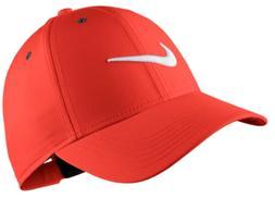 NIKE Kid's Unisex Core Golf Hat/Cap, One Size, Habenero Red