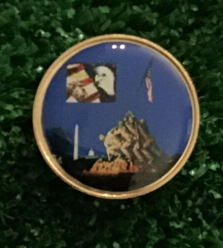 🇺🇸 American Golf Ball Markers Hat Clip.