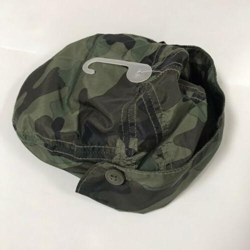 Baby Gap Boys Hat XS Green Lightweight Ear Summer