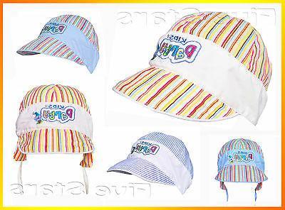 Baby/toddler/kid hat scally cotton golf cap months