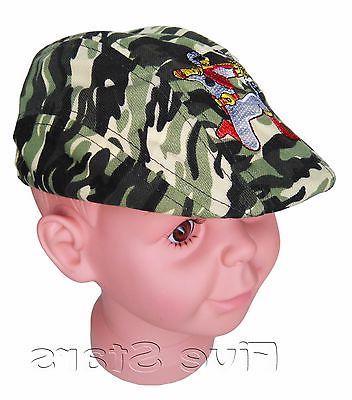baby toddler kid boy flat sun hat
