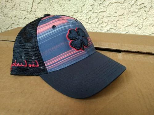 Black Golf Hat - S/M - Lucky Island -