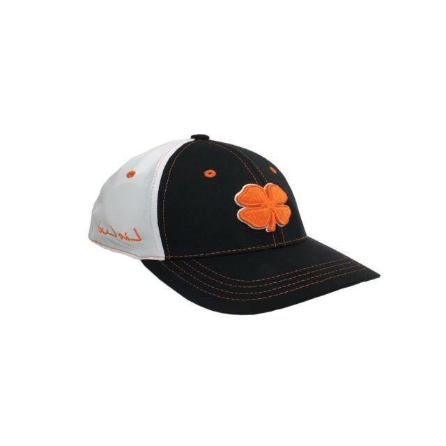 black white black orange s m golf