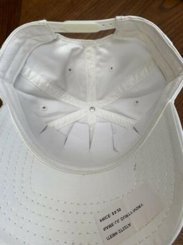 Chicago Golf Hat Cap Distressed Sample White