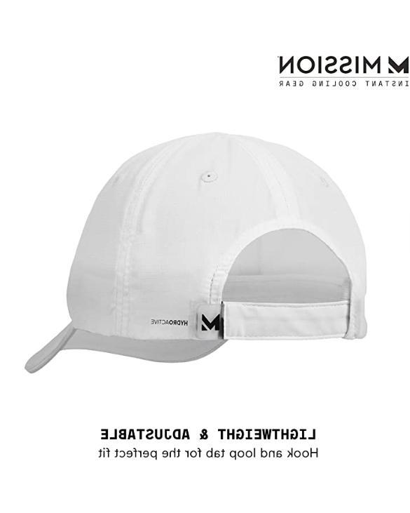 MISSION Hat- Unisex UPF 50, When Wet