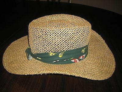 dorfman pacific fedora straw hat with colorful