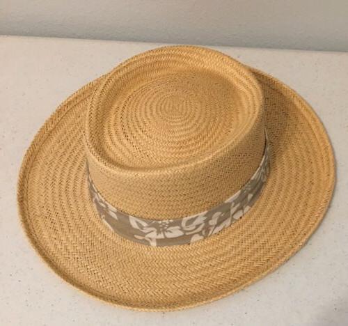 Scala Dorfman Straw Hat Size / Golfing