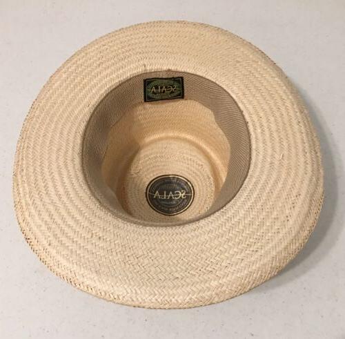 Scala Classico Dorfman Straw Hat / NEW Golfing