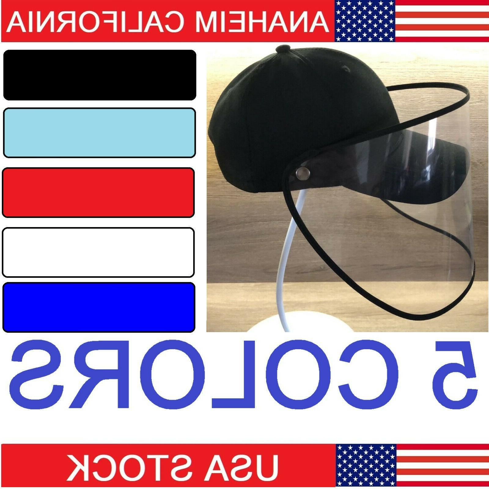 full face cover hat golf cap protective