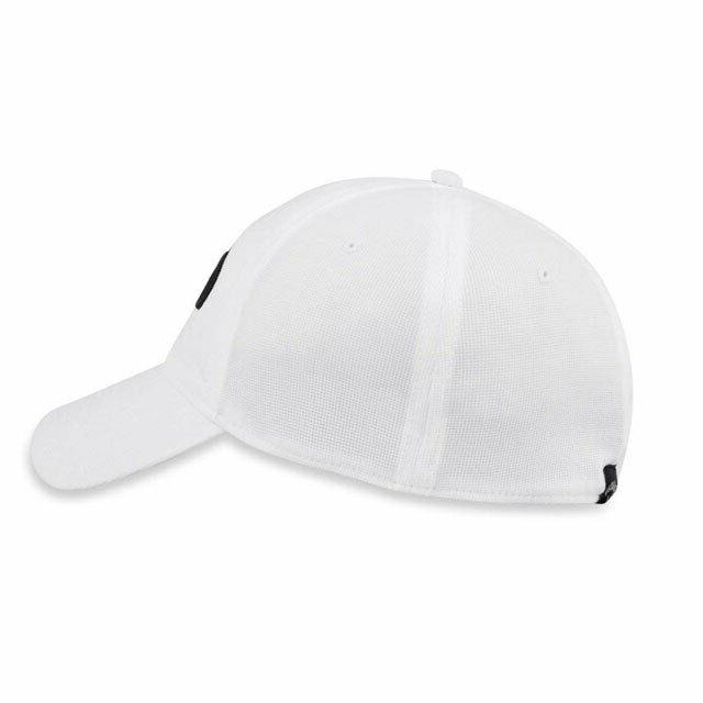 CALLAWAY STRETCH FITTED CAP S/M WHITE FIT NEW 19735