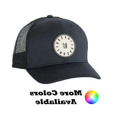 golf coaches patch trucker snapback cap hat