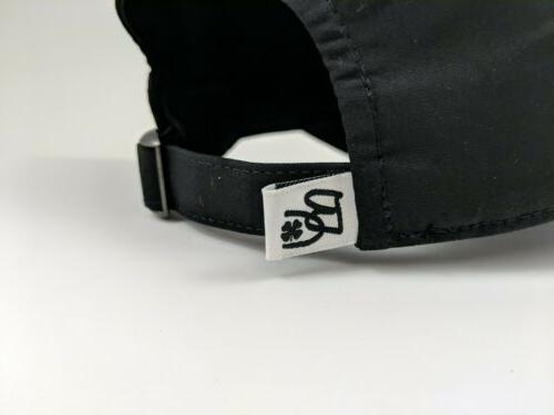 Black Clover Golf ~ Adjustable Baseball Cap ~ Live Lucky