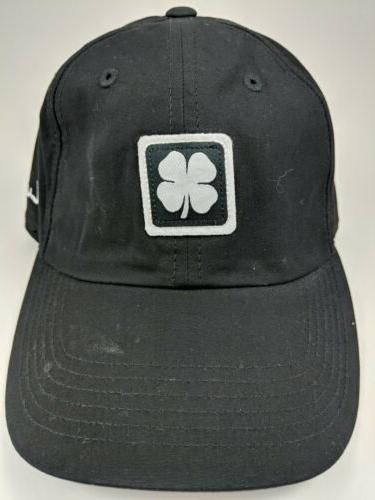 Black Clover ~ Black Adjustable Cap 100% ~ Lucky