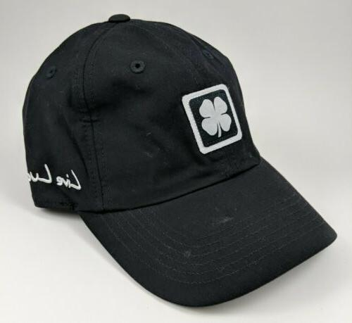 golf hat black adjustable baseball cap 100