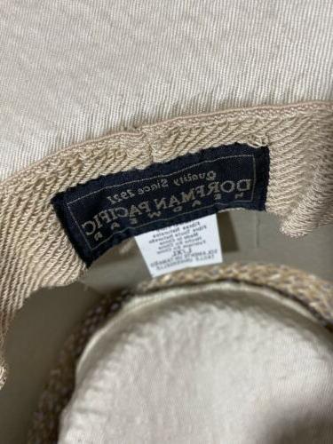Dorfman Golf Men's Straw Hat, L/XL